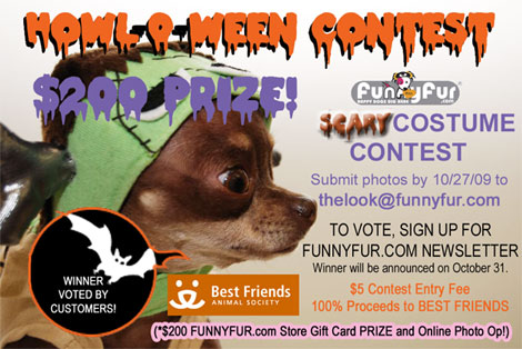 FunnyFur Howl-O-Ween Contest